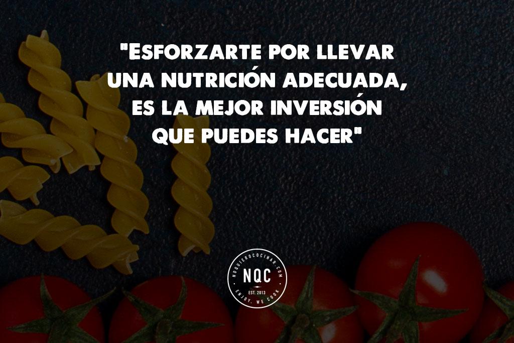 Frases Doação De Alimentos: Esforzarte Por Llevar Una Nutrición Adecuada, La Mejor