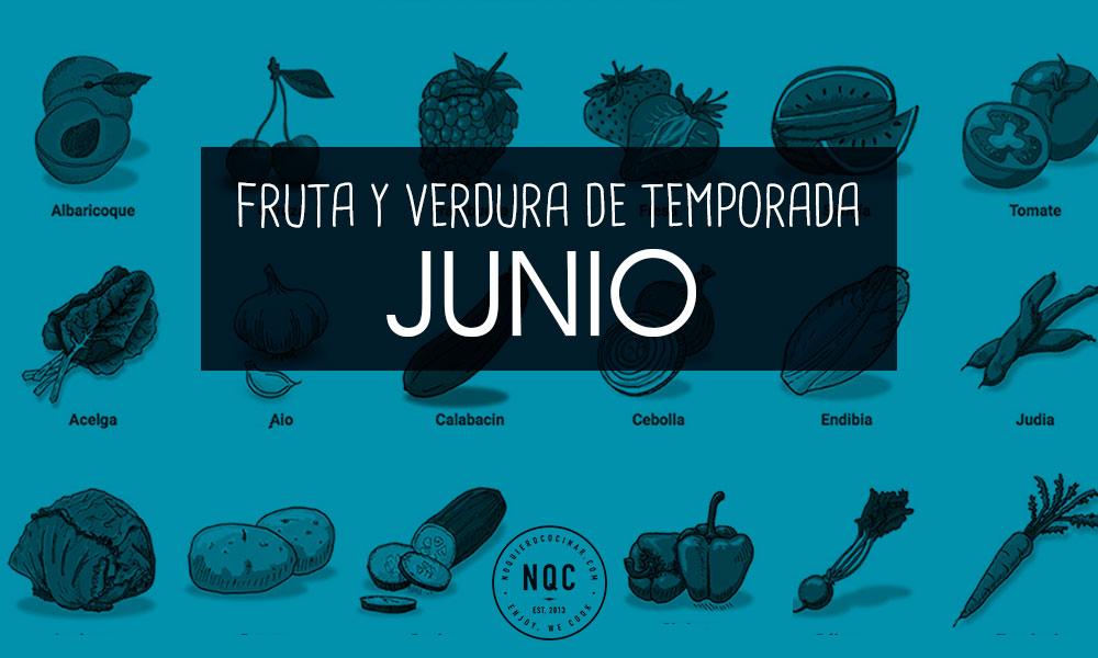 Fruta y Verdura de Temporada de Junio